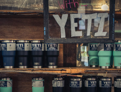 Stay warm with Yeti