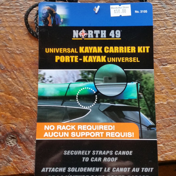 North 49 Kayak Carrier Kit Universal