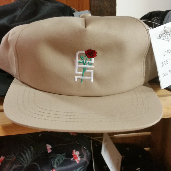 HAT- KHAKI PETAL SNAPBACK TEAM LTD