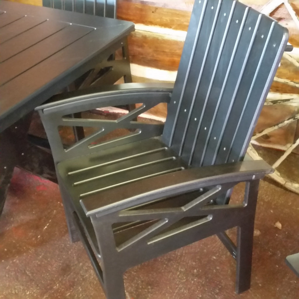 Beaver Springs Dining Chair Black Recycled Plastic