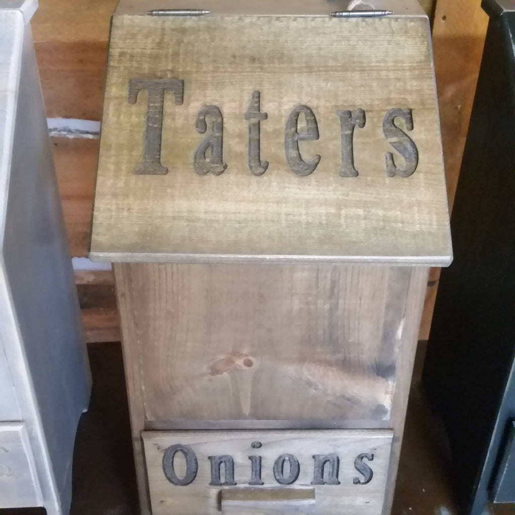 Spring Water Tater and Onion Bin