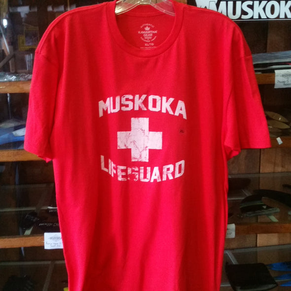 Kawartha Gear Muskoka Lifeguard T-shirts Various