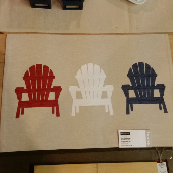 Harman Placemat Adirondack Chair