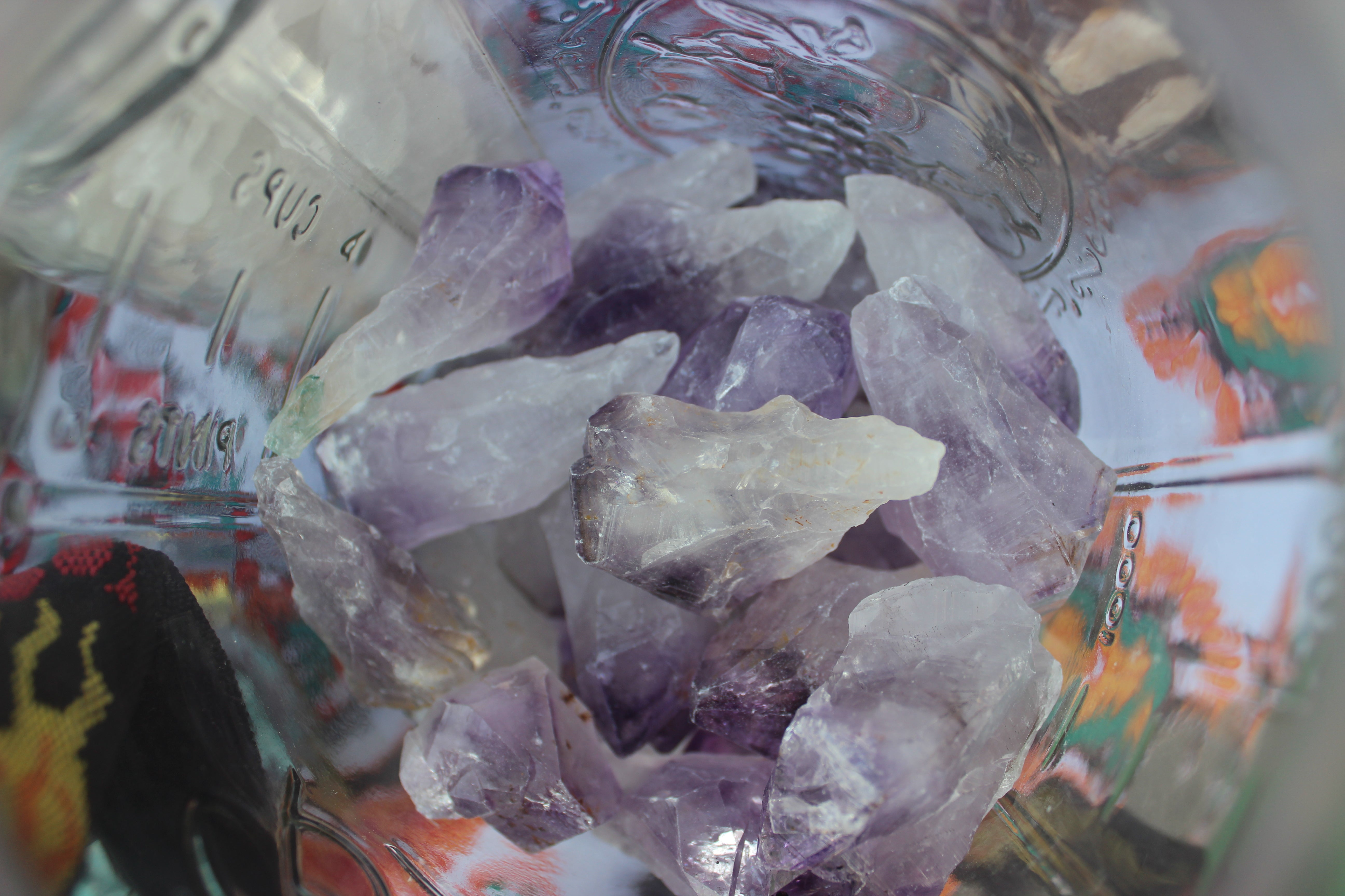 Rough Amethyst Points