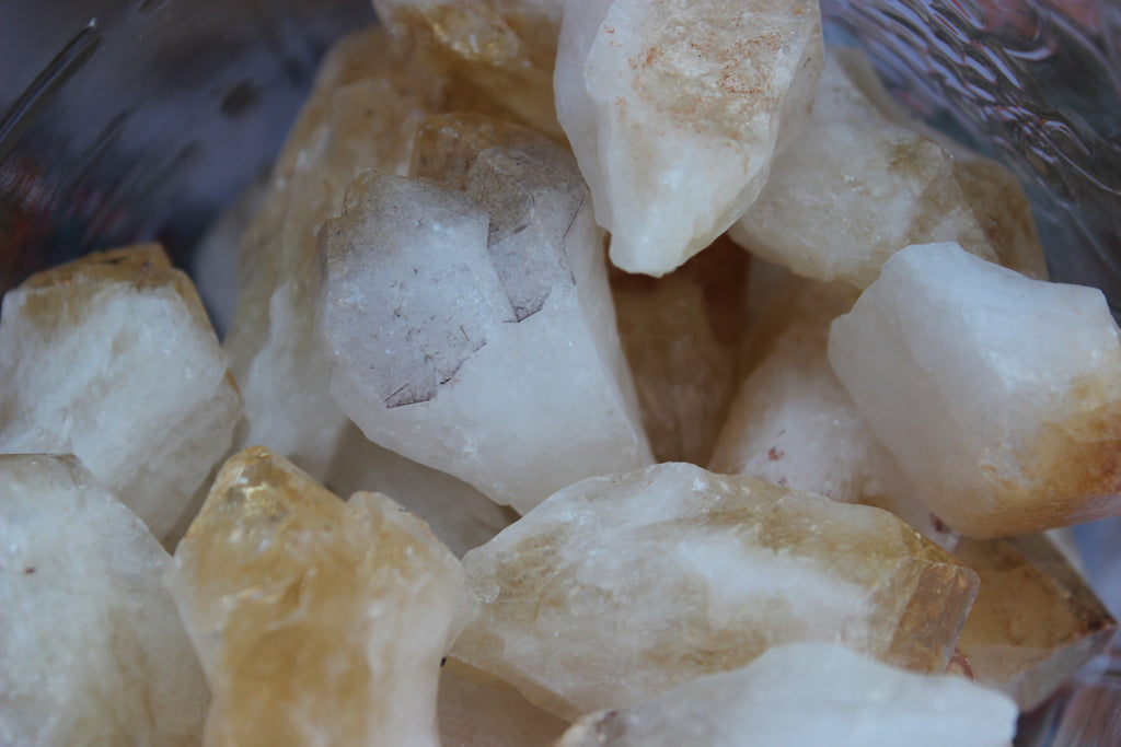 Citrine Crystal Point