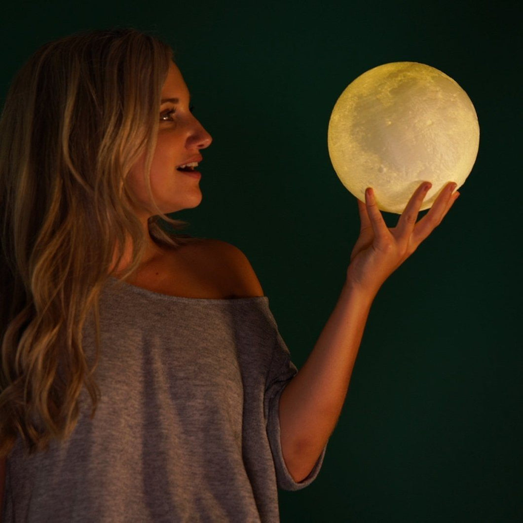 Stress Relieving Moon Lamp