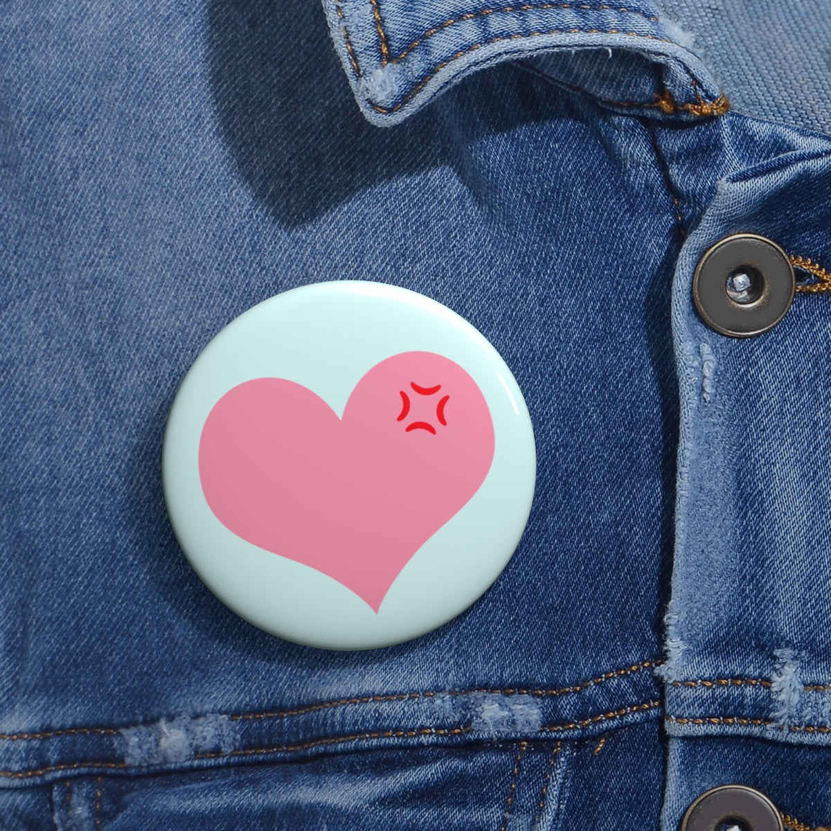 Tsundere Button