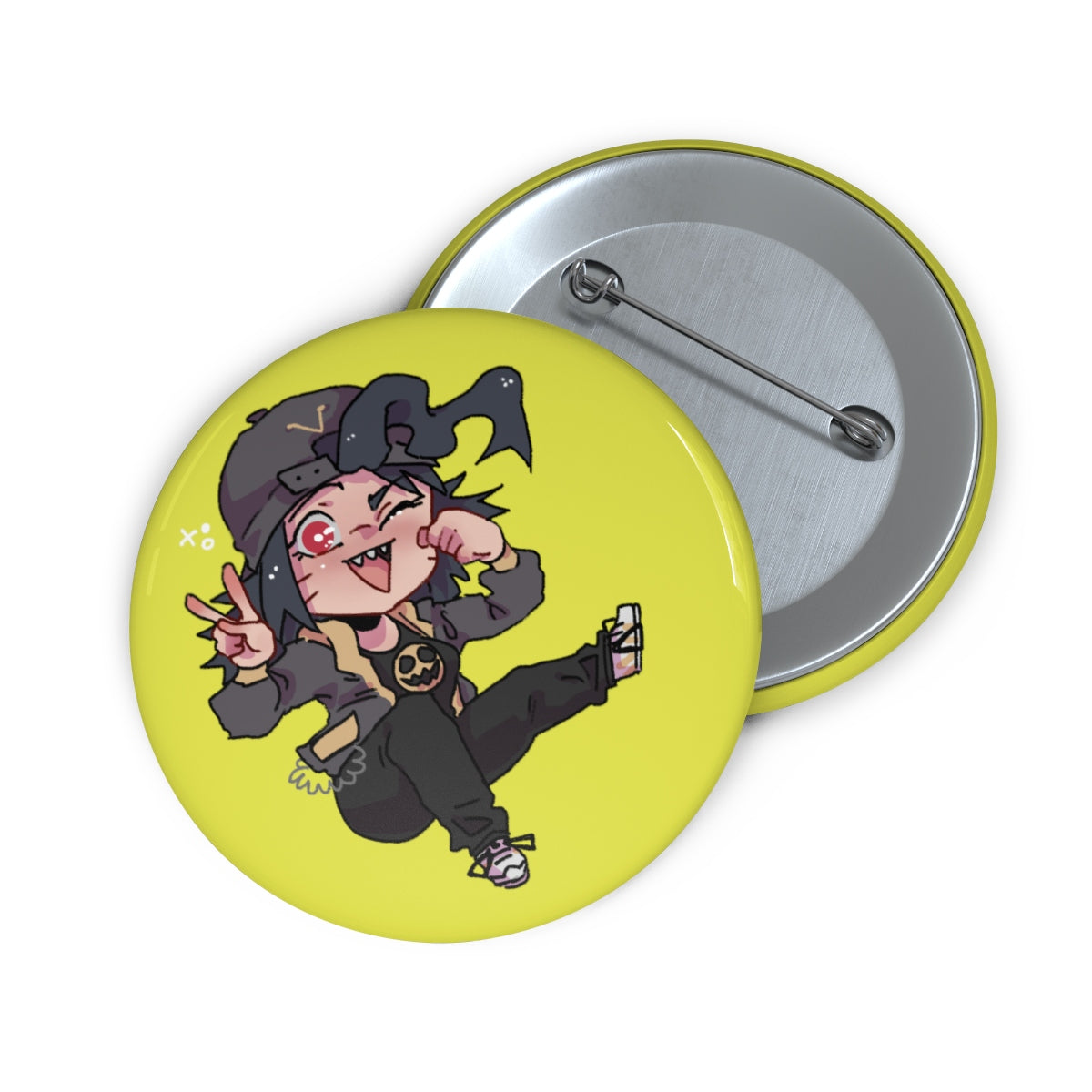Vic Chibi Button