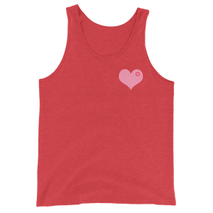 Tsundere Heart Tank Top