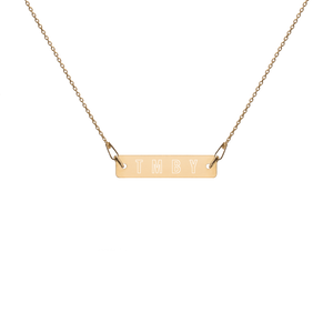 TMBY Engraved Chain Necklace