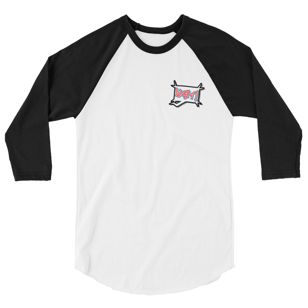Katakana 3/4 Sleeve Shirt