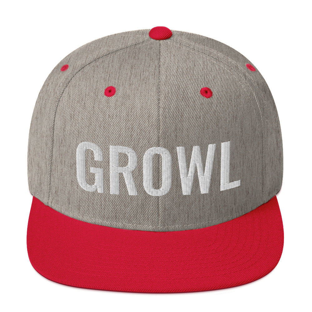 GROWL Snapback Hat