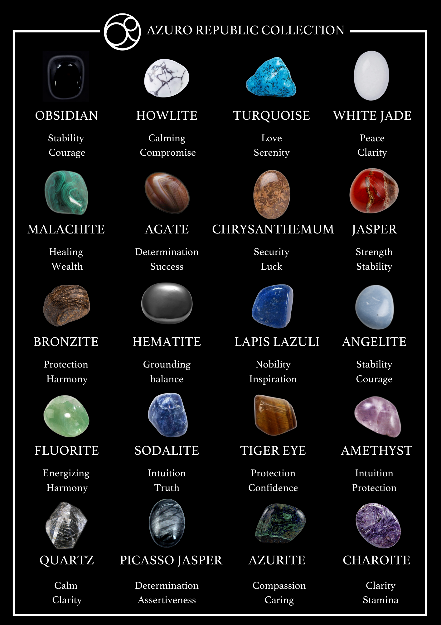 20 Healing Crystals with Their Meanings and Benefits