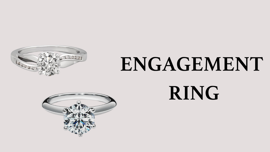 Two Solitaire Engagement Rings