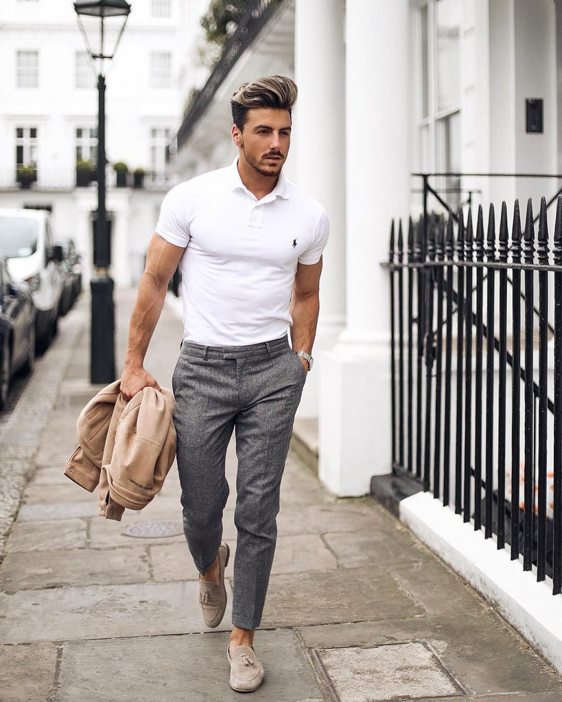 Men's summer fashion How to wear Polo shirts