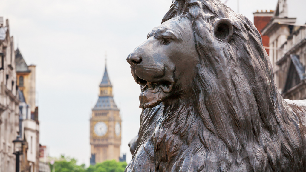 Barbary lion, the symbolic animal in England