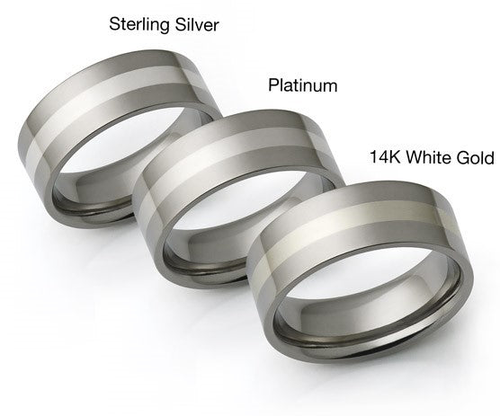 Differences between jewelry metal, White gold vs silver vs platinum