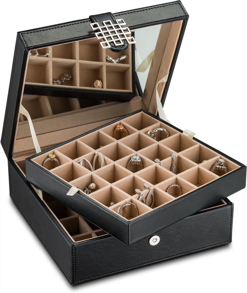 Men's jewelry box and jewelry organizer ideas for rings