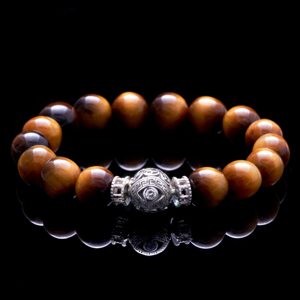 The evil eye bracelet jewelry handcrafted by Azuro Republic