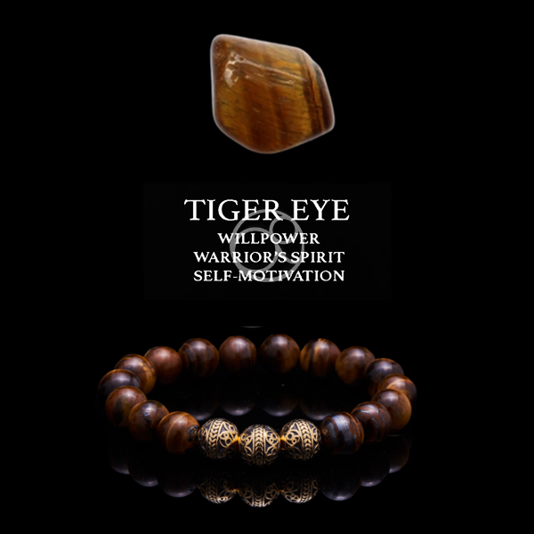 Tiger Eye Crystal and Tiger Eye with 24k Gold Plated Beads Beaded Bracelet, mens beaded bracelet, healing bracelet, 20 Healing Crystals with Their Meanings and Benefits, Tiger Eye stone, Tiger Eye meaning