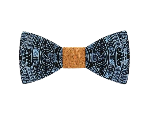 wooden bow tie men handcrafted trendy patterned as the fourth option of 8 unique new year gifts ideas