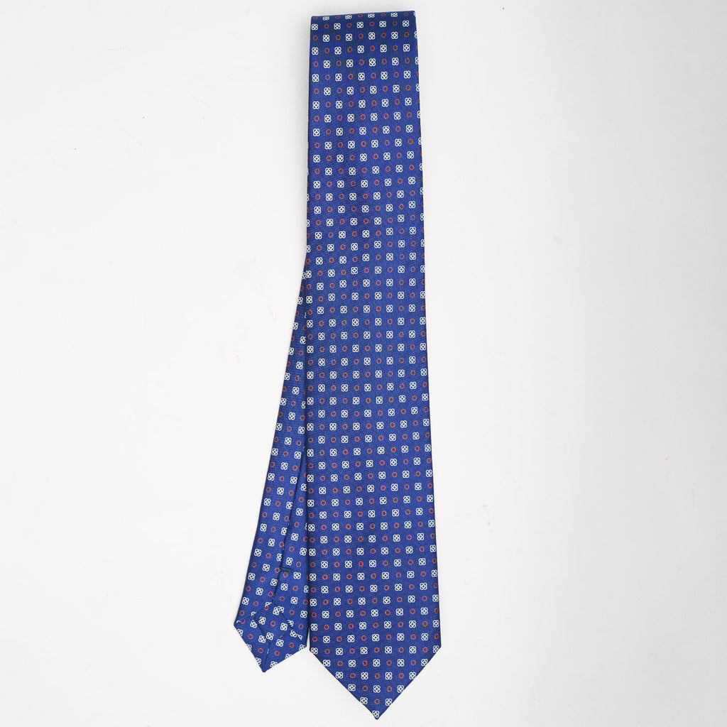 mens ties are best man gifts.product picture of hand-printed mens tie.ties with hand-printed patterns are best gifts for men.E.Marinella's best tie style for men.ties a man should own.