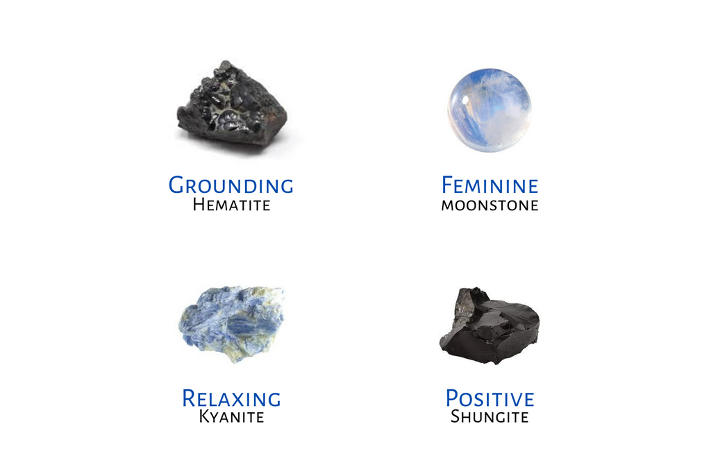 crystals for anxiety, stones for anxiety, best crystals for anxiety, anxiety crystal, anxiety crystals, crystals for anxiety and depression, crystals that help with anxiety, healing crystals for anxiety, hematite, moonstone, kyanite, shungite