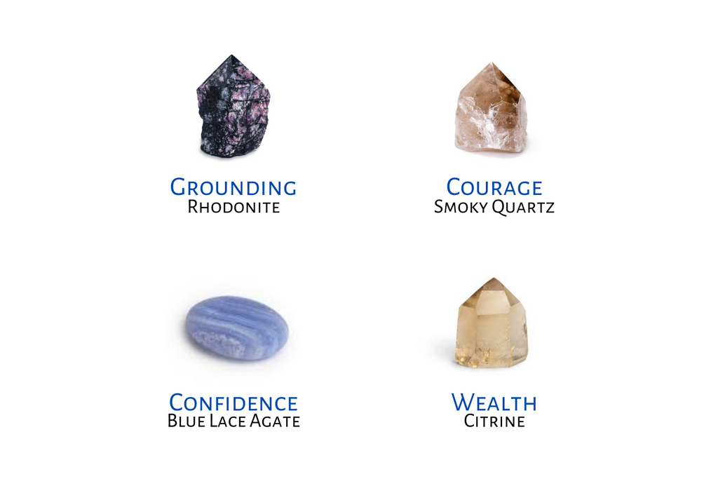 crystals for anxiety, stones for anxiety, best crystals for anxiety, anxiety crystal, anxiety crystals, crystals for anxiety and depression, crystals that help with anxiety, healing crystals for anxiety, rhodonite, smoky quartz, blue lace agate, citrine