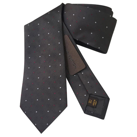 louis vuitton brown mens accessories tie white background picture as a gift idea for fathers day gifts
