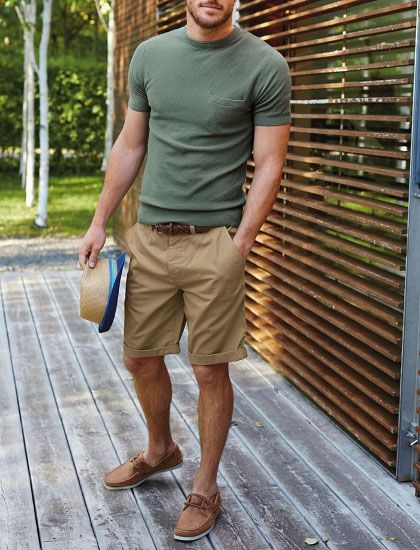 Men's summer fashion color tee