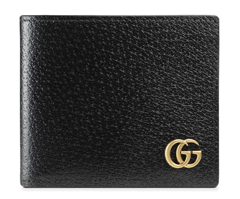 mens accessories like gucci mens black leather wallet as an option for new year gifts