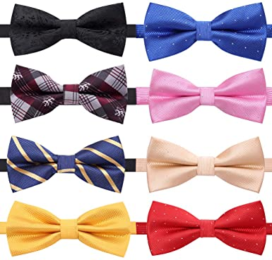 multiple color of bow ties for mens tie accessories