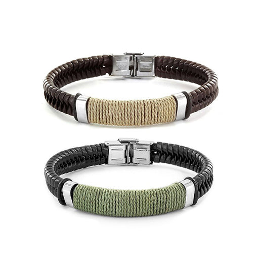 bracelets ideas for couple, different color leather couple bracelets, matching couple bracelets style, green and yellow relationship bracelets for couples, image of matching bracelets for couples