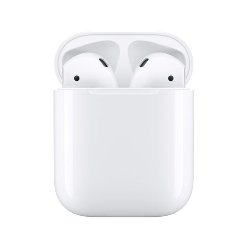 men's accessories as gift option white wireless airpods single object picture for fathers day gifts