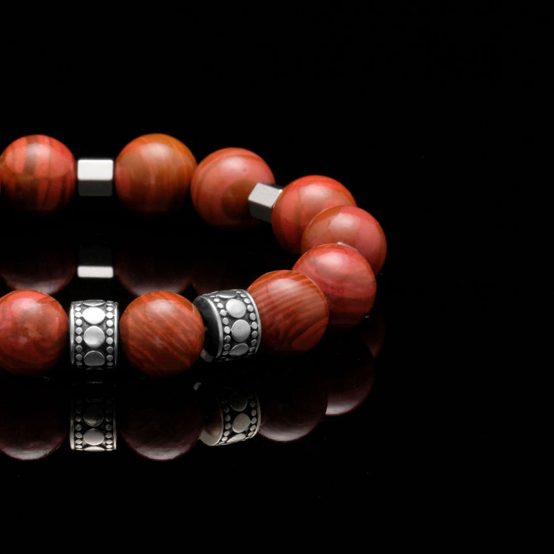 mens stainless steel bracelets, mens silver bracelets, chakra bracelet, chakra stones, jasper stone, red jasper bracelet, men stone bracelet, men bracelet, bracelet for men, mens bead bracelet, men's accessories, beaded bracelets for men, mens beaded bracelets, silver bracelet, male bracelets, bracelet men, mens jewelry bracelet, handmade mens bracelets, men wear bracelet