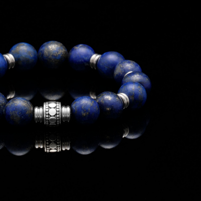 mens stainless steel bracelets, mens silver bracelets, chakra bracelet, chakra stones, throat chakra, lapis lazuli, lapis lazuli jewelry, lapis lazuli bracelets, men stone bracelet, men bracelet, bracelet for men, mens bead bracelet, men's accessories, beaded bracelets for men, mens beaded bracelets, silver bracelet, male bracelets, bracelet men, mens jewelry bracelet, handmade mens bracelets, men wear bracelet
