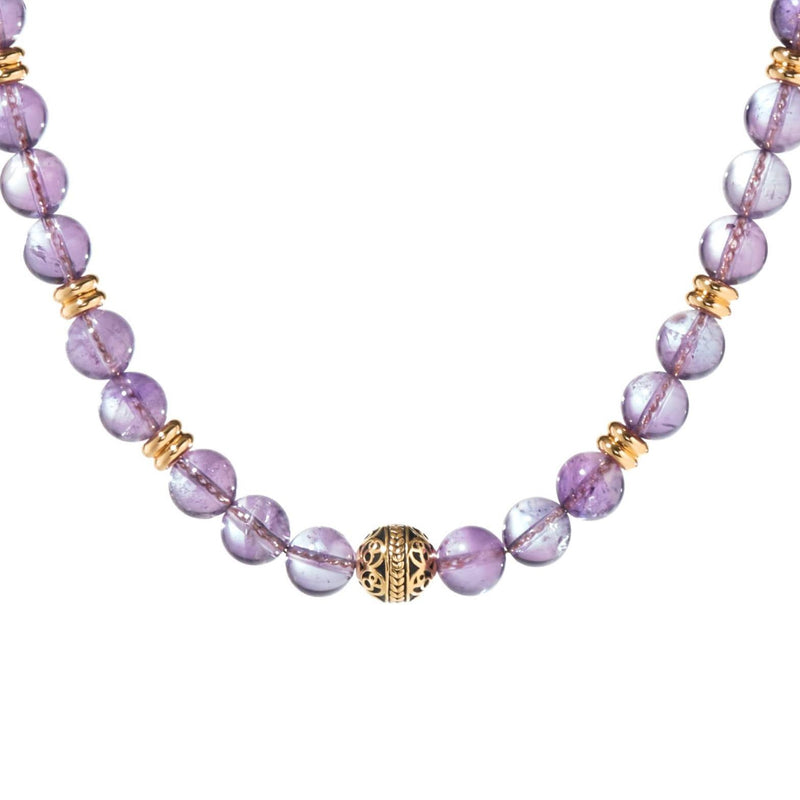 A Crystal necklace has healing properties to release anxiety, attract positivity and foster inner energy. Custom a healing crystal necklace to be your aspiration. Some of the most popular crystal necklaces are amethyst necklaces, gold necklaces, silver necklaces. Shop now and get the Grade AAA crystal necklace today.