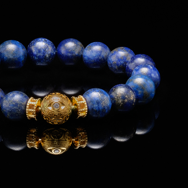 [NEW ARRIVAL] The Gold Evil Eye Bracelet - Azuro Republic