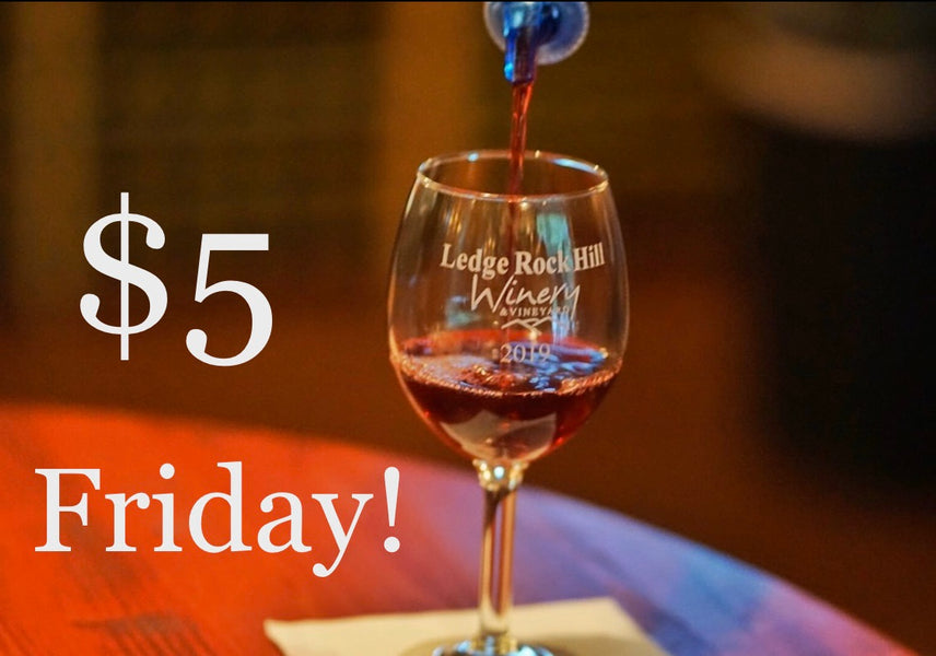 $5 Fridays - October 18th & 25th