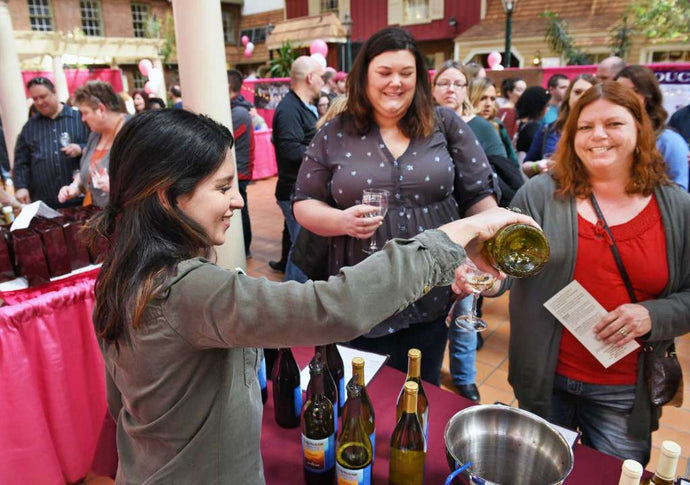 First Event of 2019 - Albany Wine & Chocolate Festival
