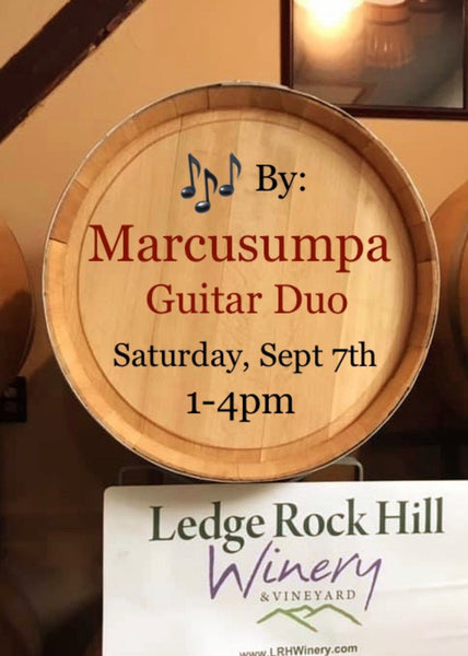 Guitar Duo Marcusumpa performs Saturday, September 7th