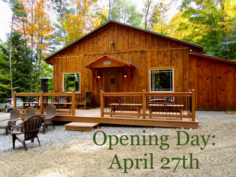 It's Finally Time - Tasting Room Opening April 27th!