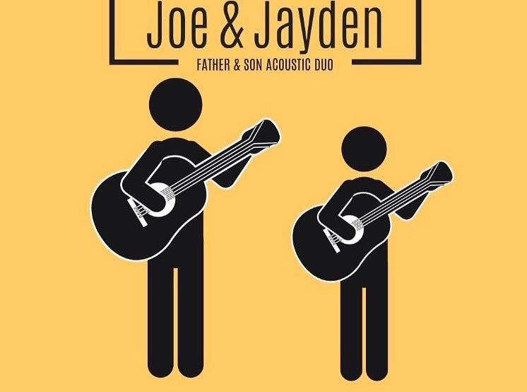 Father & Son Acoustic Duo Perform this Saturday September 13th