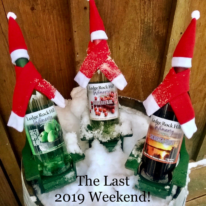 Join us for the last tasting room weekend of 2019