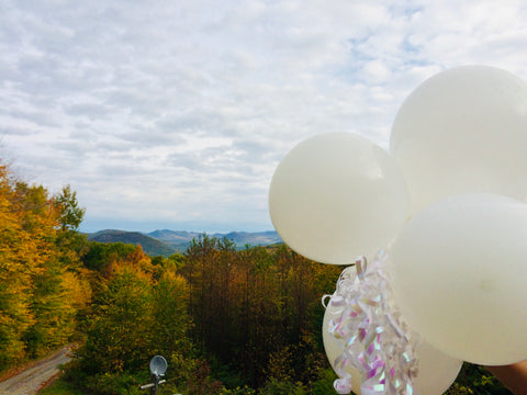 balloons at ledge rock hill winery