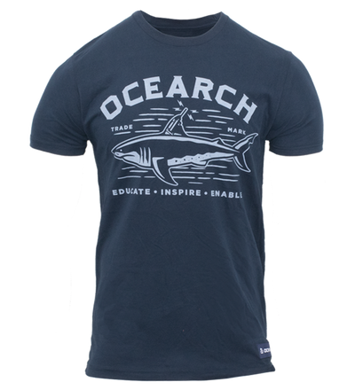Men's Tracker Sueded Tee - Navy