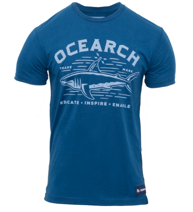 Men's Tracker Sueded Tee - Cool Blue