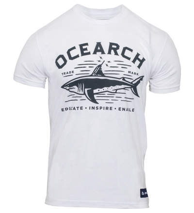 Men's Tracker Sueded Tee – White