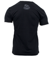 Men's Logo Sueded Tee - Black
