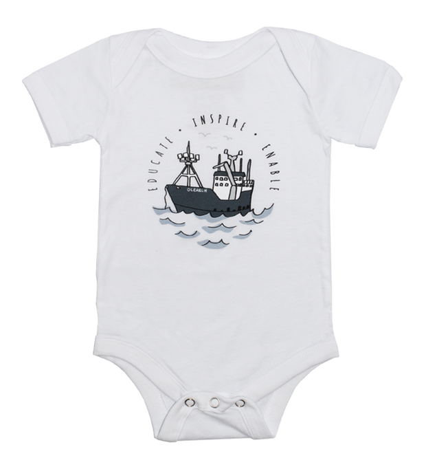 Infant Boat One Piece Bodysuit